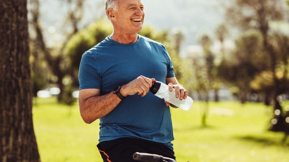 alimentos saudáveis e aminoácidos para a dieta de idosos